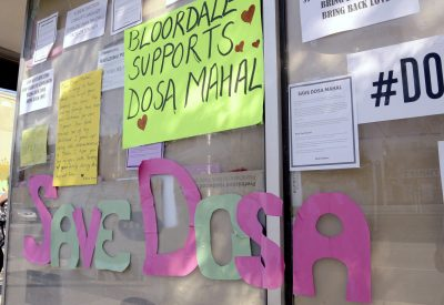 Dosa Mahal Restaurant Support